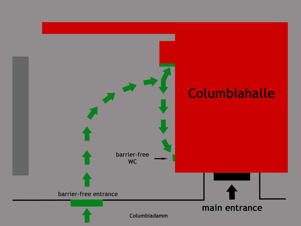 Plan Barrier-Free Columbiahalle